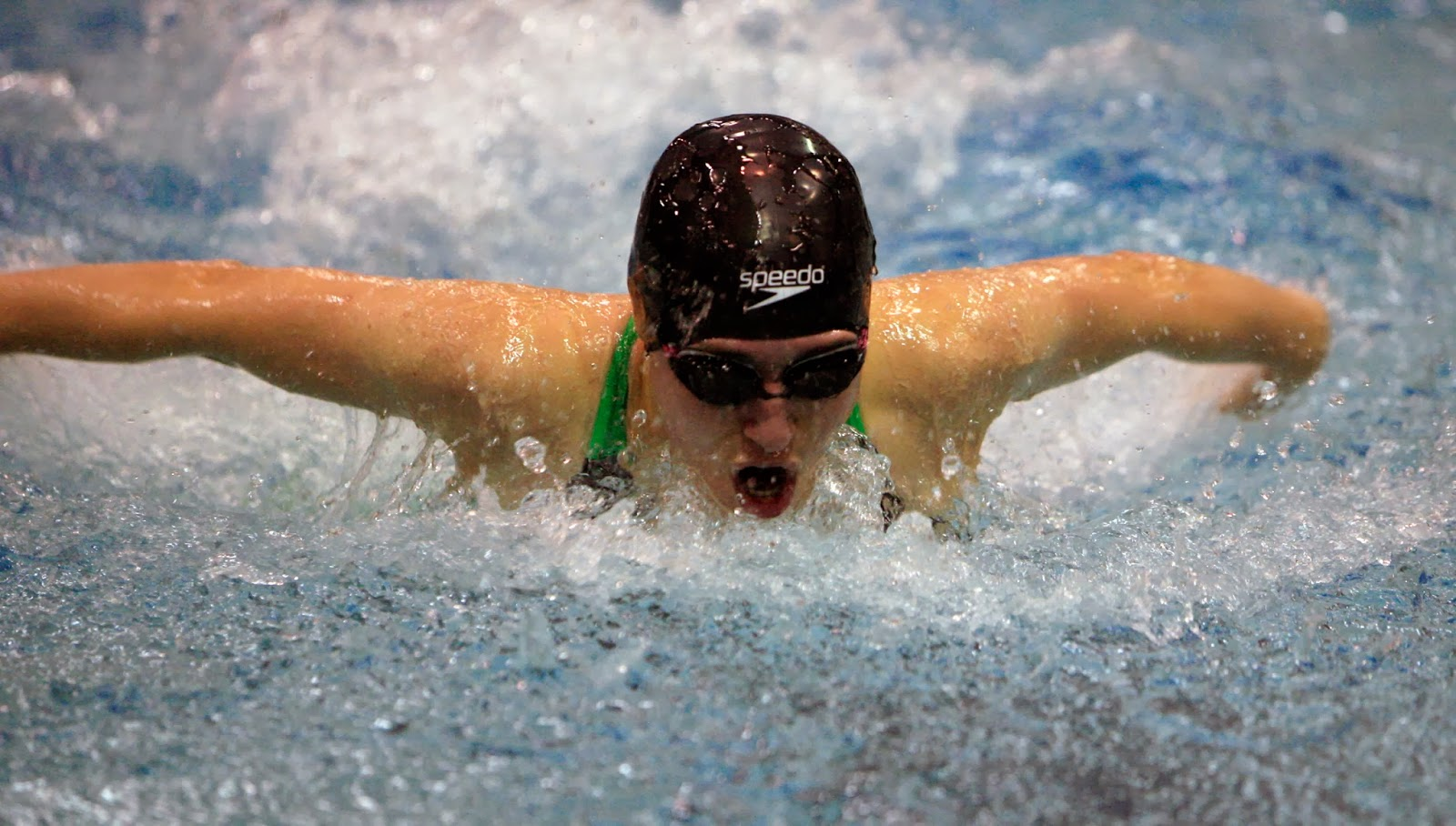 Mark Kodiak Ukena Ihsa Girls Swimming State Preliminaries