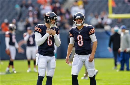 Detroit Lions to face Bears' Jimmy Clausen after Cutler benched