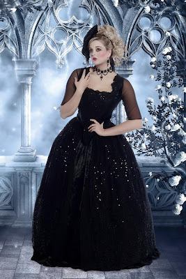Fantasy Marie Antoinette Gown Set Halloween
