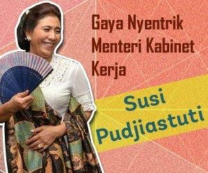 Susi Pudjiastuti: Gaji Menteri Cuma 1% dari Gaji Saya di Susi Air