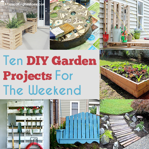 A typical english home best diy garden ideas for Best home garden ideas