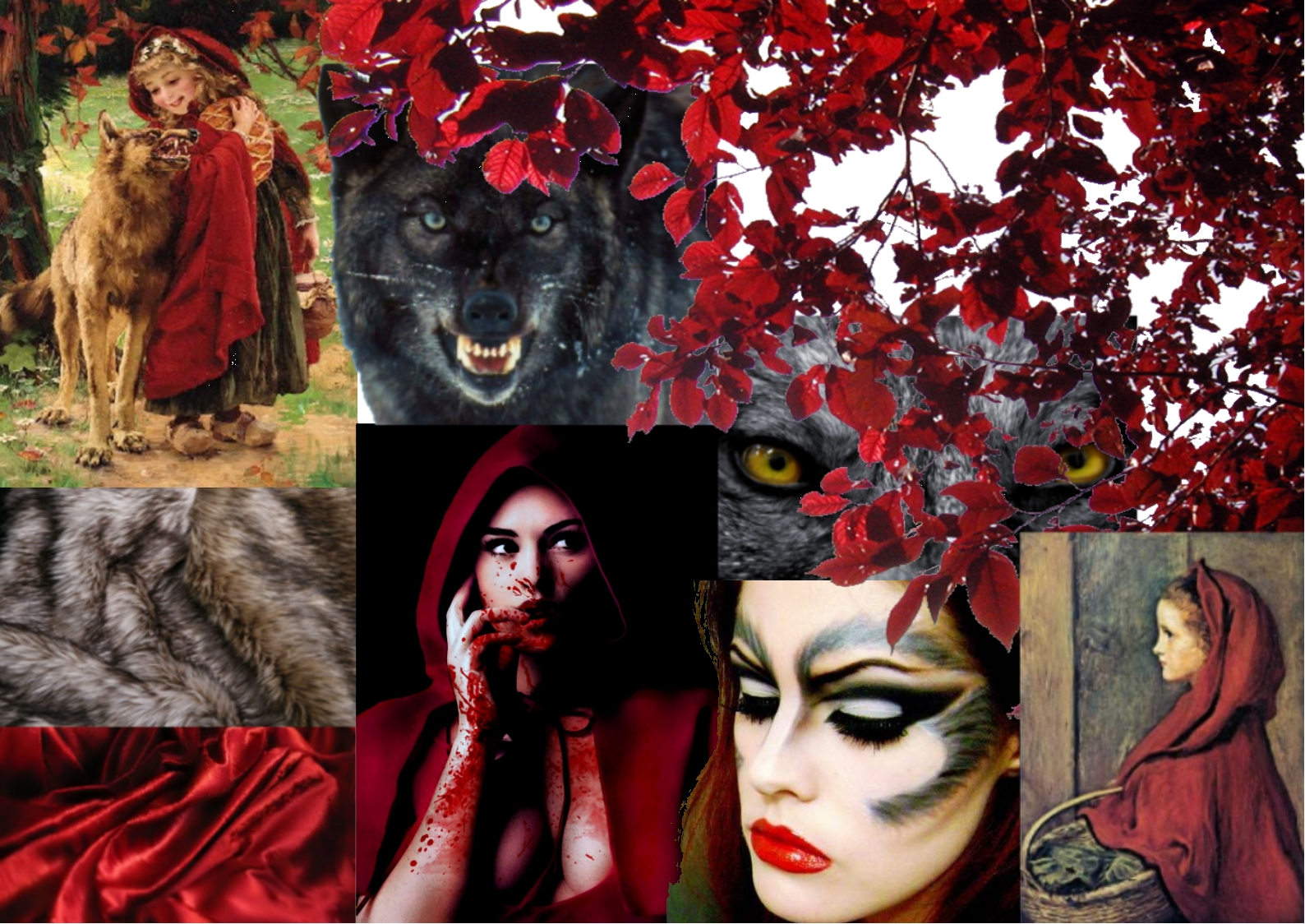 Laura-MarieEvil Little Red Riding Hood Makeup