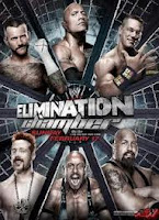 WWE Elimination Chamber on 17/02/2013 Poster