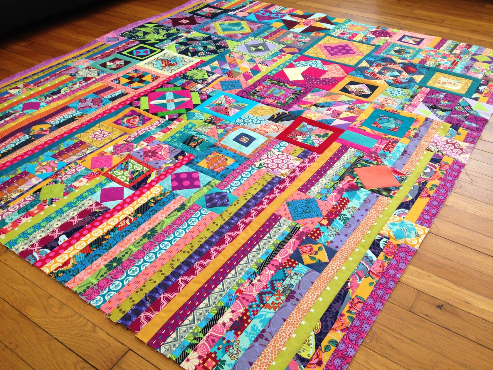 hot pink quilts: FF: Gypsy Wife Quilt Top Done! : gypsy wife quilt - Adamdwight.com