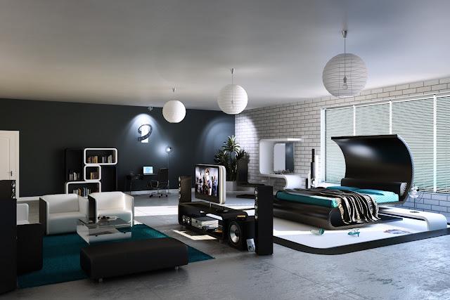 Les chambres moderne for Les chambre a coucher moderne
