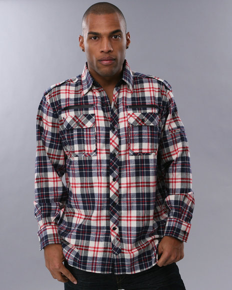 Flannel shirt men for Redhead bear creek flannel shirt