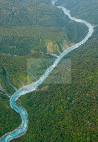 Whitcombe River aerial