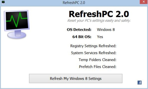 RefreshPC Windows Registry Software
