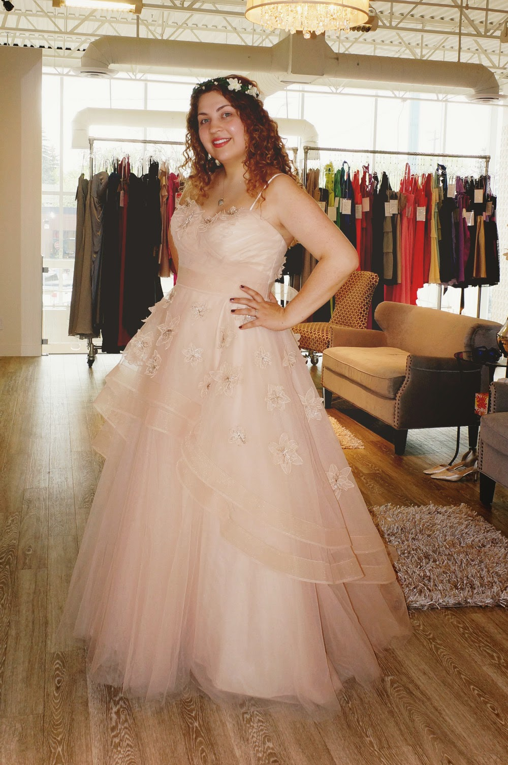 Light A Candle: The Dress: Olivia by Watters Wtoo