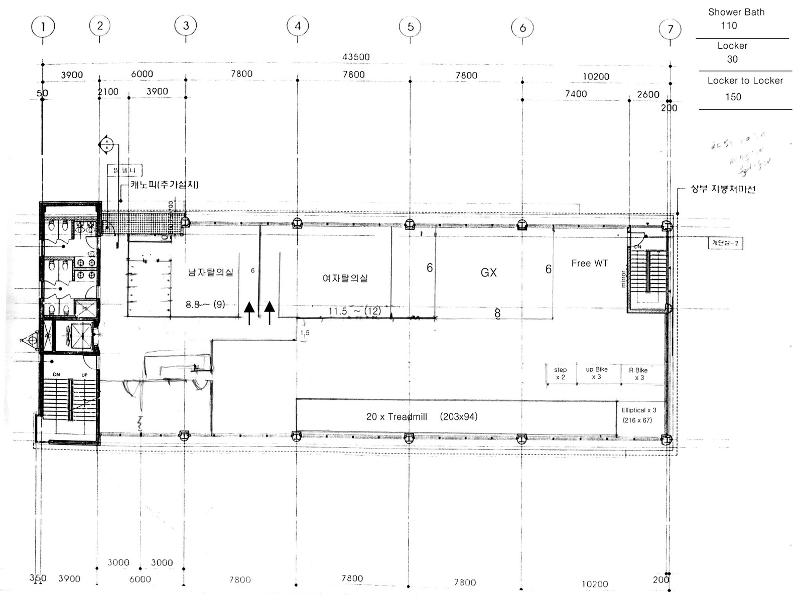 Simple Fitness Gym Floor Plan Images