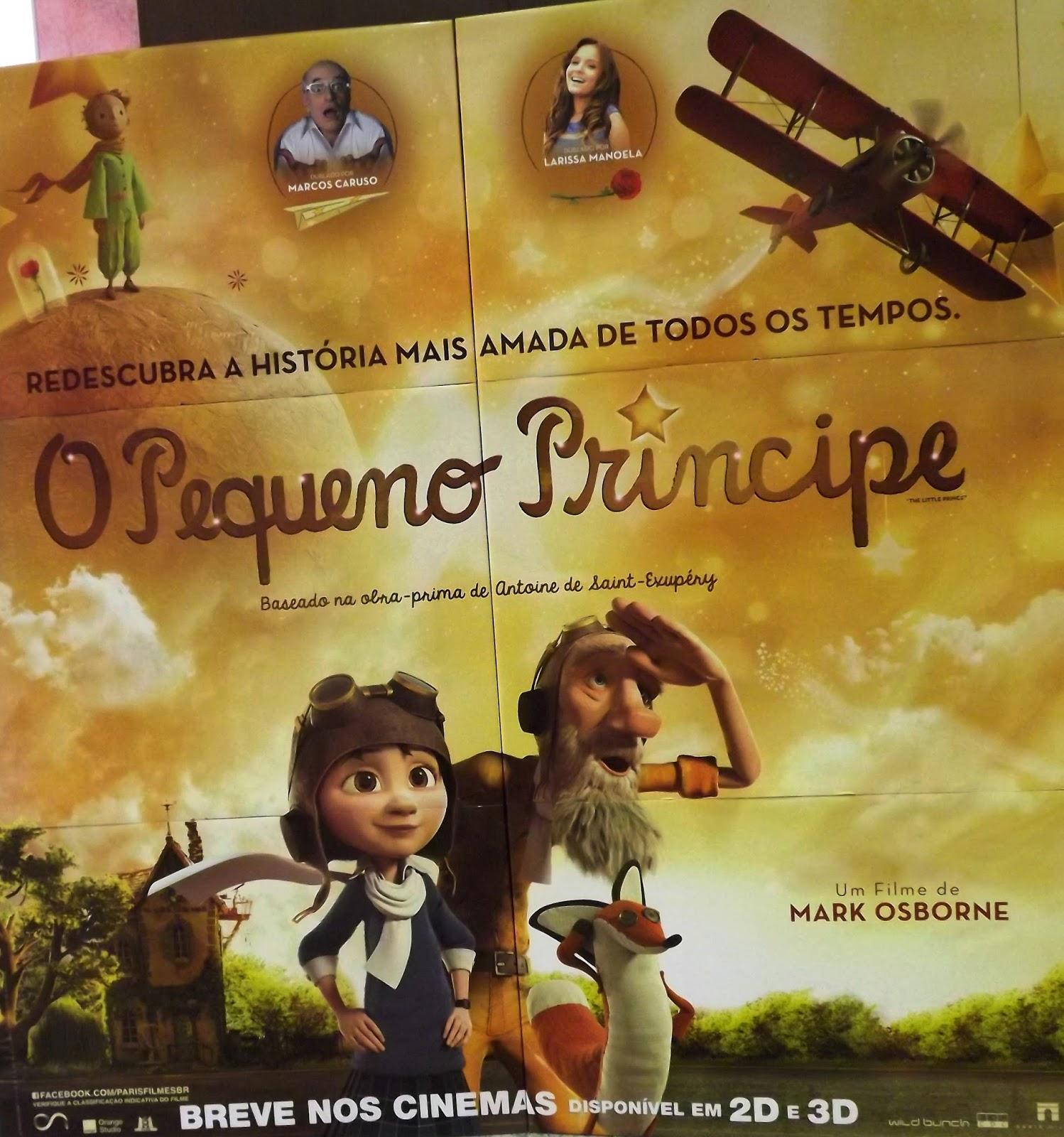 Filme O Pequeno Principe 2015 throughout escola núcleo deolindo zílio: filme - o pequeno príncipe