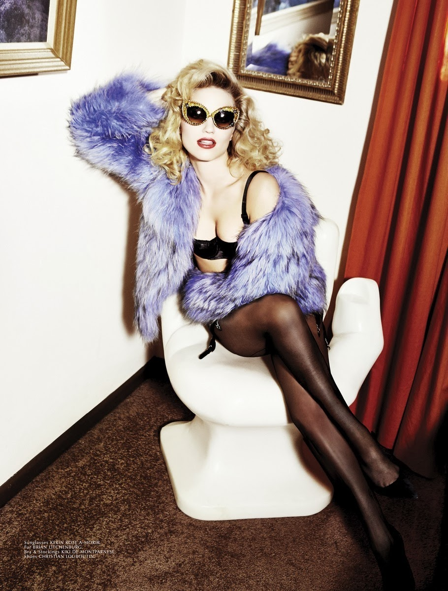 "Dianna Agron &Quot;galore"" Magazine Winter 2014"
