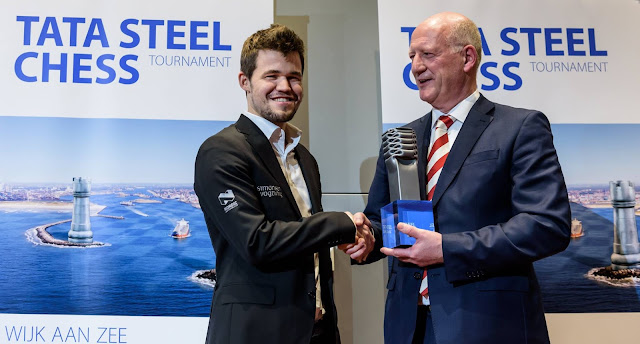 Magnus Carlsen ganador del Tata Steel Chess 2016