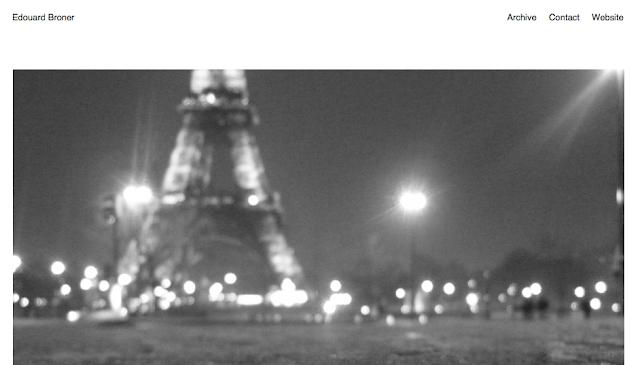 ED BRONER x RESOURCE PARIS