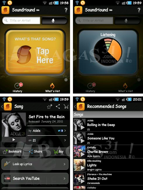 SoundHound ∞ for Android 2