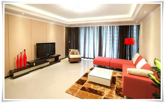 Phòng khách căn hộ Saigon Pearl