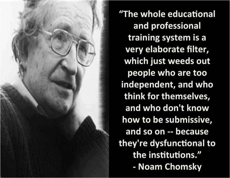 Day 328 Noam Chomsky Quote Experiment On Quora With Anonymous