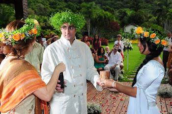 Celebração de Casamento Celta - Tanya Althea