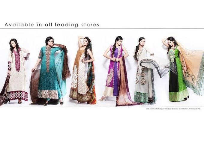 Hira Lari - Eid Collection 2012 @ Afroze Textiles