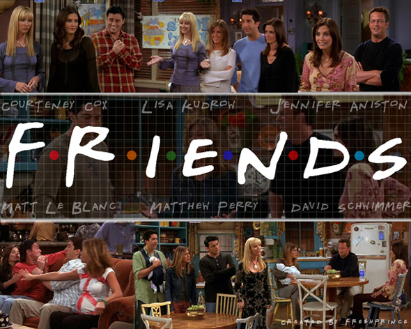 friends sitcom screenshot