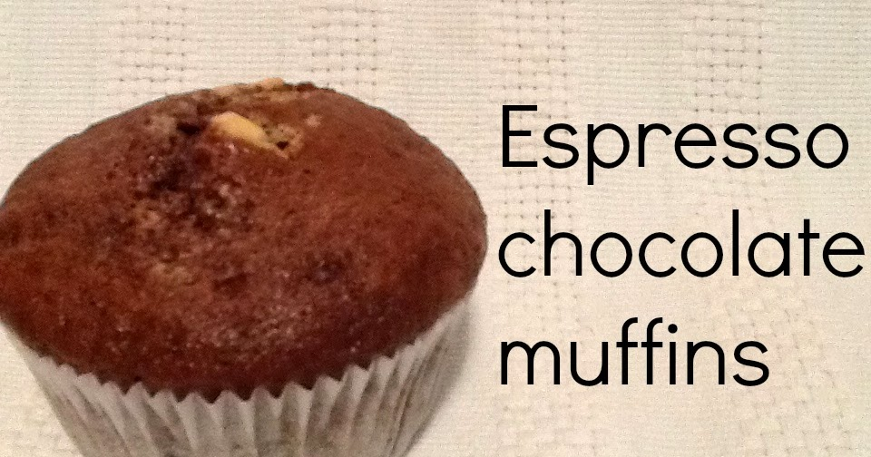 With Glitter on Top: Espresso chocolate muffins