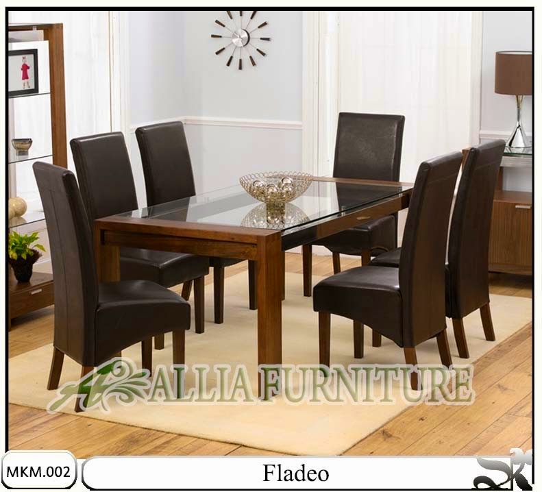 kursi makan meja minimalis model fladeo