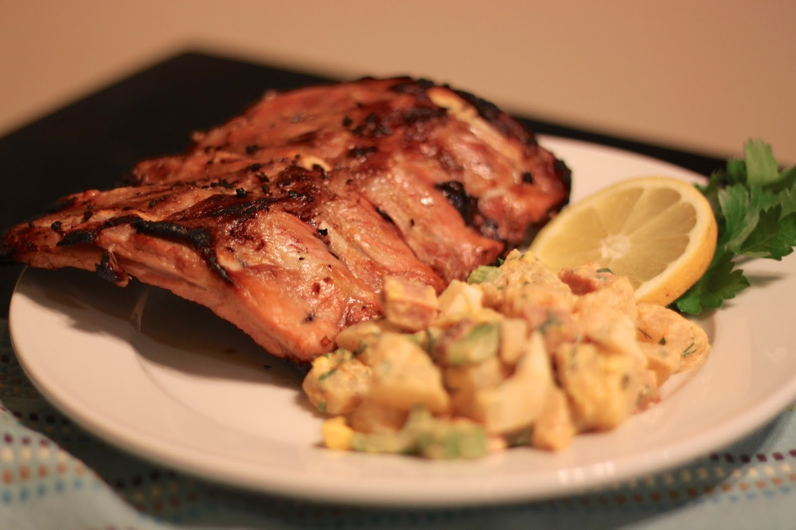 Naked Eats Rxd: Costillitas (Cuban Baby Back Ribs) from