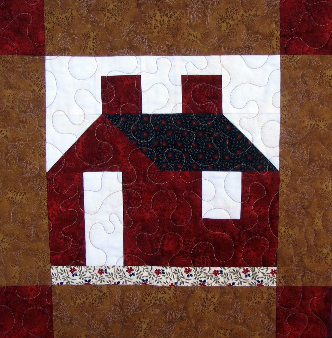 Free Quilt Patterns And Blocks : Starwood Quilter: Schoolhouse Quilt Block