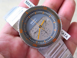SEIKO CHRONOGRAPH SOFT GREY GREY DIAL - DESIGN BY GIUGIARO - LIMITED EDITION 1935 / 2500