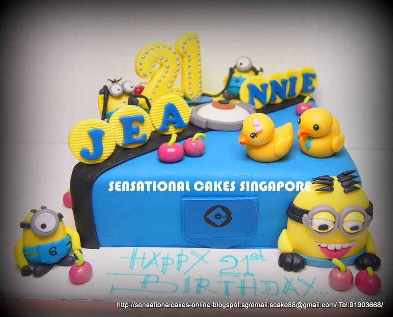 Birthday Cake Images Minions ~ The sensational cakes minions despicable me d cake singapore