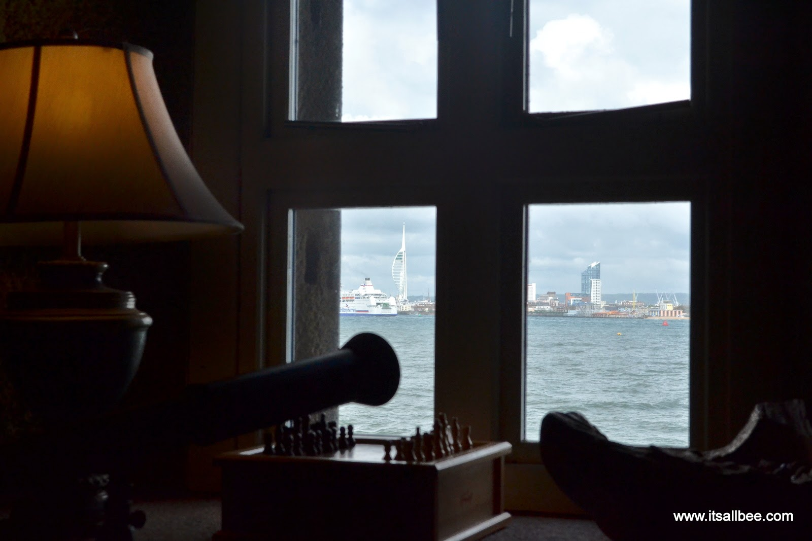 Spitbank Fort | Secrets of The Solent Sunday Lunch