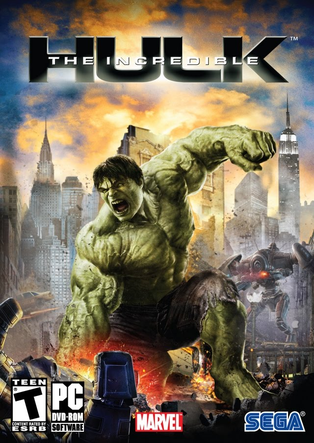 the incredible hulk the game