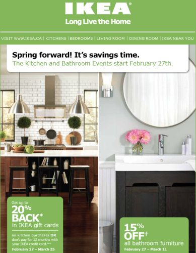 Canadian Daily Deals Ikea Kitchen And Bathroom Event