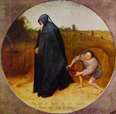 Bruegel, Il misantropo o La perfidia del mondo (1568)
