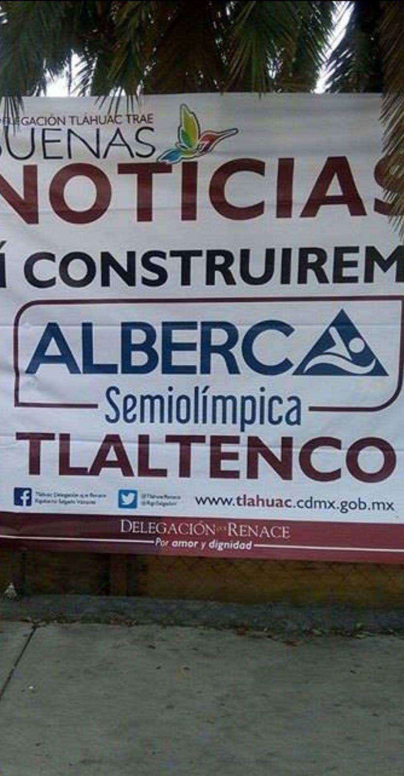 «Guzgo y lángaro» delegado construye albercas en Tláhuac
