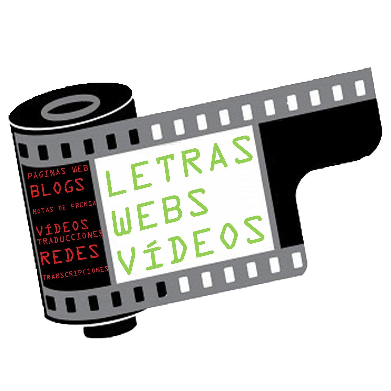 letras para web y videos