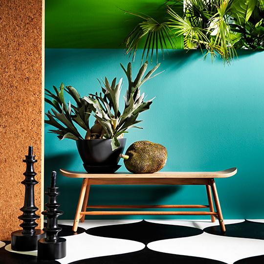 Ikeas tillfälliga kollektion Tillfälle - Bänk av eukalyptusträ | www.var-dags-rum.se