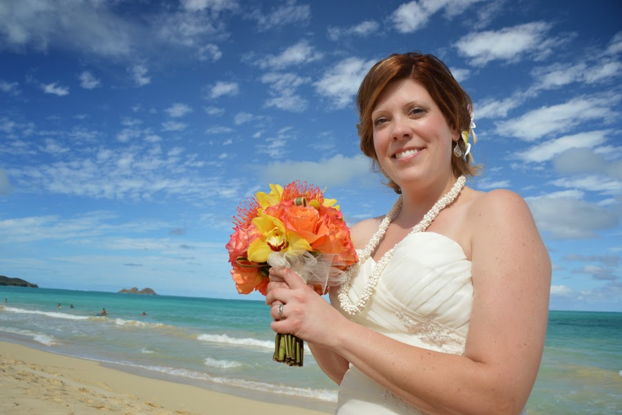 Bride in Hawaii