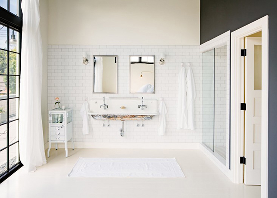 Industrial loft in portland oregon my paradissi for Bathroom remodel portland or