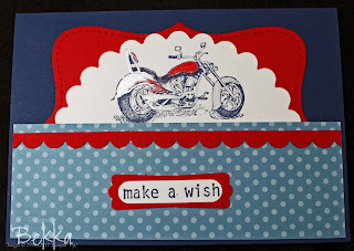 Big Bold Birthday with a Motorbike