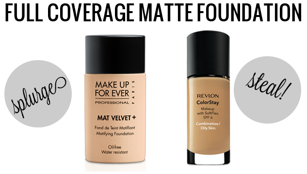 Houston Beauty blogger Meg O. On The Go shares a fantastic list of high end makeup products and their drugstore dupes! Do you want to splurge or steal? A must read!