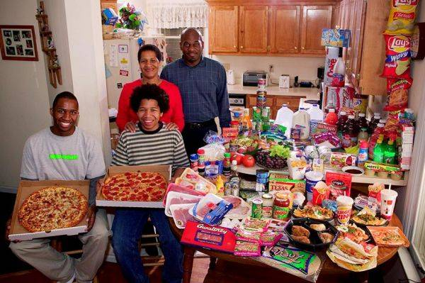 The Revis family spends around $342 per week.