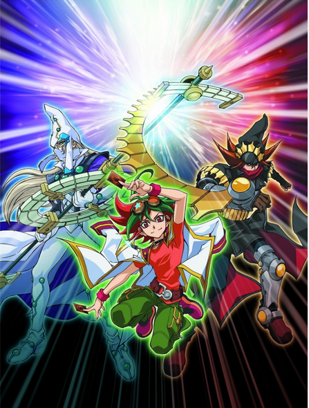 new yu gi oh arc v anime s visual story revealed jefusion