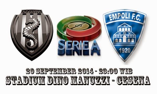 AC Cesena Vs Empoli FC