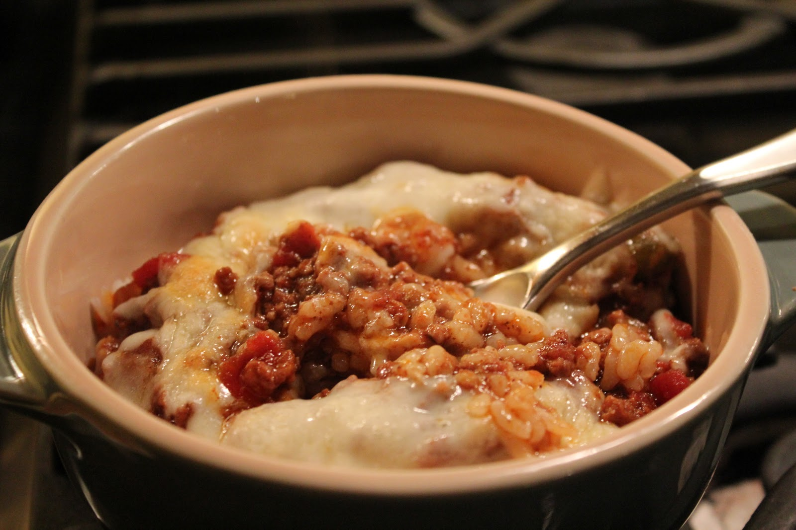 Easy No-Bean Chili (adapted from Bon Appetit )