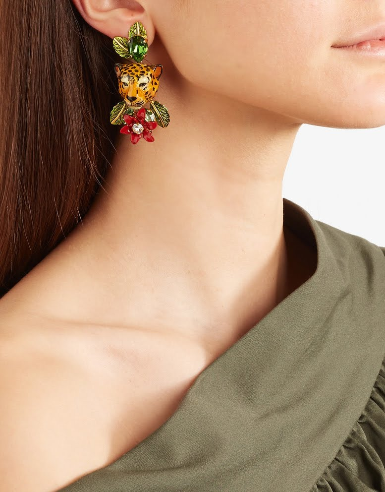 product earrings crystal dolce gabbana clip up sale embellished and on stylight to