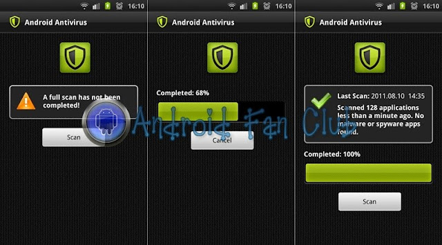 Android Antivirus for smartphones & tablets