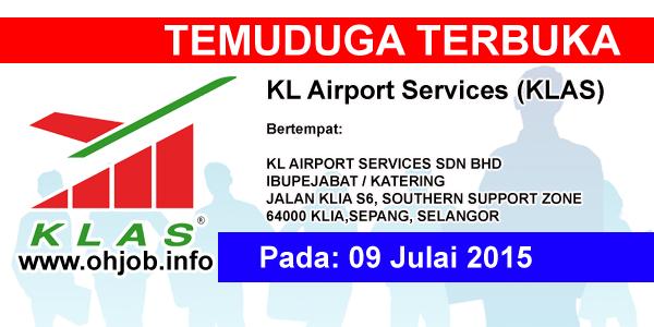 Jawatan Kerja Kosong KL Airport Services (KLAS) logo www.ohjob.info julai 2015
