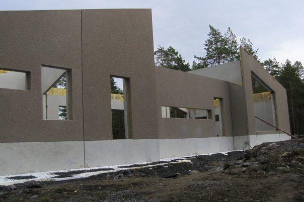 bygga hus i betong