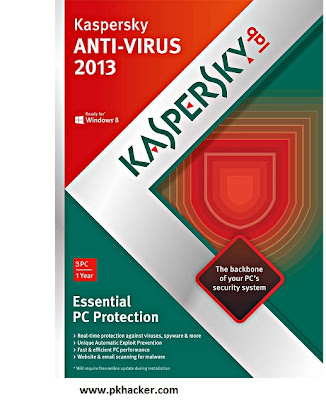 Kaspersky AntiVirus 2013 With Serial Key And Crack